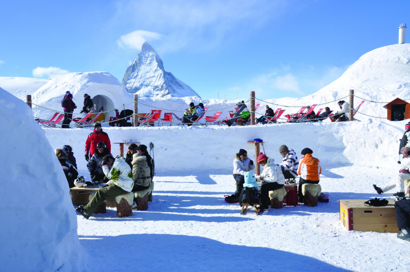 Iglu Lunch Fondue